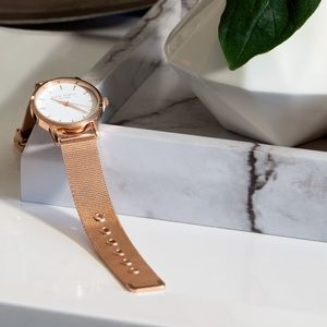 Rose Gold Eddie Borgo The Soho Watch.